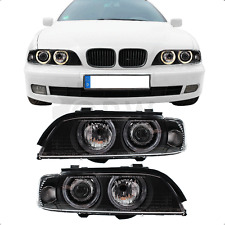 Fanali Angel Eyes BMW 5er e39 anno 95-00 incl. PHILIPS H 7+ H 7+ MOTORI