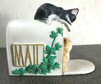 "Vintage Lenox ""Mailbox Mischief"" Sweet Kitties Collection 2007"