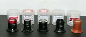 Horatec SWISS Aluminum Wood Eye Loupe Magnifier Watchmaker tools eyeglass  Lens