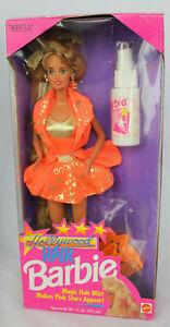 NEW Hollywood Hair Teresa Barbie Doll 1992 NRFB Mattel Vintage 2316 Long Orange