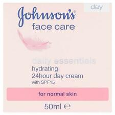 ** JOHNSONS FACE CARE DAILY ESSENTIALS HYDRATING 24 HOUR DAY CREAM  50ml NEW **