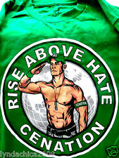JOHN CENA CENATION Rise above Hate Shirt (Size S)