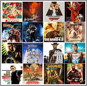 Movie Film Posters A4/A3 Poster Prints 280gsm Satin Paper **BUY 2 GET 1 FREE **