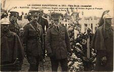 CPA  La Guerre Européenne de 1914 - Féte de la Toussaint - Nantes ...  (222302)