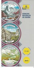 España Parques Naturales Picos Europa Monfrague Sierra Nevada año 2010 (EC-675)