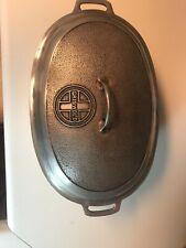 Vintage Griswold No 5 A485 Roaster With Trivet
