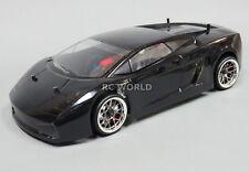 Personnalisé Rc 1/10 Drift Lamborghini Gallardo Voiture - Ready To Run Noir