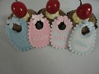 12 pcs square bib decoration for baby shower (FREE SHIPPING)