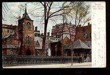 1905 Little Church round the Corner New York City postcard