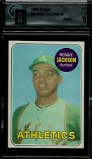1969 TOPPS #260 REGGIE JACKSON RC GAI 9 MINT A's YANKEES HOF ROOKIE CENTERED
