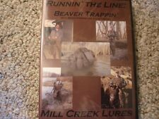 BEAVER TRAPPING DVD - RUNNIN THE LINE 4- NIGHT VISION FOOTAGE BEAVER TRAPPING