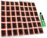 LOT DE 48 RUSTINES 26x16 mm + COLLE  -  C1351