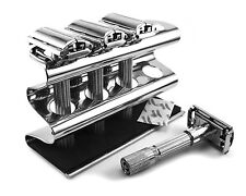 Edwin Jagger Compatible Double Edge Razor Caddy - Solid Stainless Steel