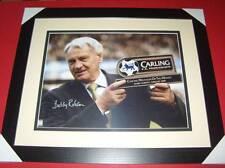 Sir Bobby Robson England Newcastle Legend signed framed photo AFTAL EPS