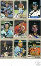 Darrell Evans Tigers Braves signed 1987 Fleer #150