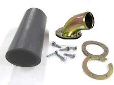 Bolt-on Fuel or Gas Tank Fuel Filler Neck - Remote Fill - Curved Neck - PBH-PT