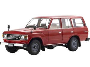 TOYOTA LAND CRUISER 60 (RHD) RED 1/18 DIECAST MODEL CAR BY KYOSHO 08956 R