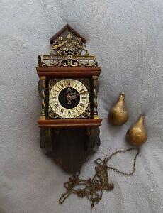 Vintage Wuba Dutch Wall Clock