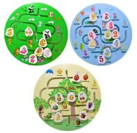 Kids Wooden Maze Educational Puzzle Game Quality Early Learning Activity Gift