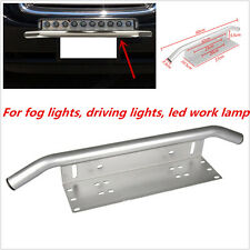 Car Offroad LED Light /Fog Light Front Bumper License Plate Mount Bracket Holder