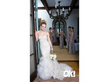 Plunging Mermaid & Trumpet Sleeve Wedding Dresses