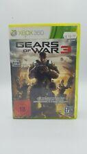 Gears of War 3 (Microsoft Xbox 360, 2011, DVD-Box)