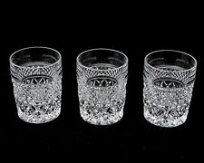 Old Fashioned Glass Tumblers Straight Side Wexford Pattern Retro Anchor Hocking
