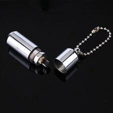 Mini Waterproof Lighter Emergency Survival Pocket Key Ring Capsule EDC Tool Gear