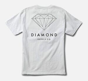 DIAMOND SUPPLY CO BRILLIANT DIAMOND T-SHIRT WHITE