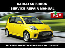 2004 2005 2006 2007 2008 2009 2010 DAIHATSU SIRION FACTORY SERVICE REPAIR MANUAL