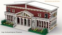 Modular Archaeological Museum for Lego - INSTRUCTIONS ONLY - PDF FILE ONLY!
