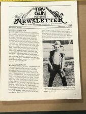 TOY GUN PURVEYORS NEWSLETTER Complete Set 16 Issues 1989 - 1993