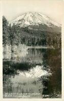 California Mt Lassen Manzanita lake Eastman #B841 1939 Photo Postcard 21-1268