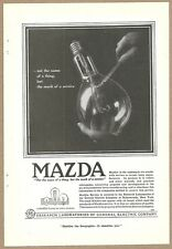 1918 Ads General Electric Research Multiplex Hammond Writing Machine Forhans