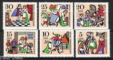 DDR Nr.  1323-28  **  Märchen  König Drosselbart