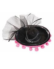 Day Of The Dead Mini Sombrero Costume Accessory