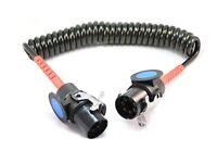 Luftwendel Druckluftwendel Spiralleitung schwarz//schwarz M22 3,5m  LKW Anhänger