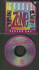 GROOVE ZONE Sector One 1989 CD TRAX MUSIC Diana Ross Luther Vandross Mel & Kim