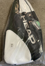 Head Tour Team Djokovic Signed 9R Supercombi Tennis Bag - Black / White