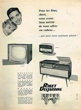 J- Publicité Advertising 1958 Recepteur radio Mozart Operette Ribet Desjardins