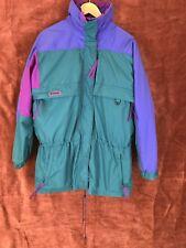 Vtg Columbia 80s/90s Gizzmo Women's Snow Jacket Size Xl 3 in 1 w/Reverse Jacket