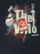HARD ROCK CAFE MINNEAPOLIS SIGNATURE SERIES -THE WHO- MEDIUM BLUE T-SHIRT- D1040