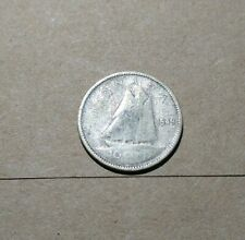 1949 Canada Silver 10 Cents Dime