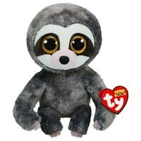 "Ty Beanie Boos Regular 9"" Dangler The Grey Sloth Plush"