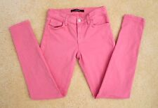 "J Brand Womens Skinny Jeans Size 25 Pink ""Pale Water"" Skinny Leg Pants"