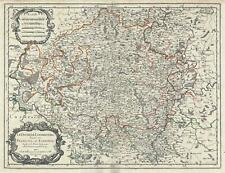 1674 Jaillot Map of the Duchy of Luxembourg