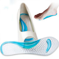 1 Pair Silicone Gel High Heel Cushion Protector Feet Care Shoe Insert Pad Insole