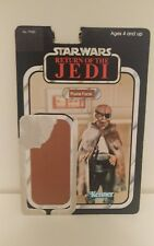Star Wars Vintage Rotj 77 Back Prune Face 1983 (CB131) de la tarjeta de respaldo, cartón