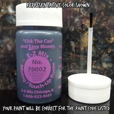 TOUCH UP PAINT FOR GM COLOR CODE WA121V, IRIDIUM, 1 OZ. SIZE,  FREE SHIPPING !