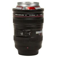 Camera Zoom Lens - Beer Drink Cooler Bottle Can Foam Cup Can Holder